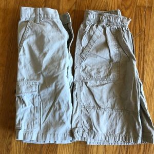 2 Boys Khaki Shorts